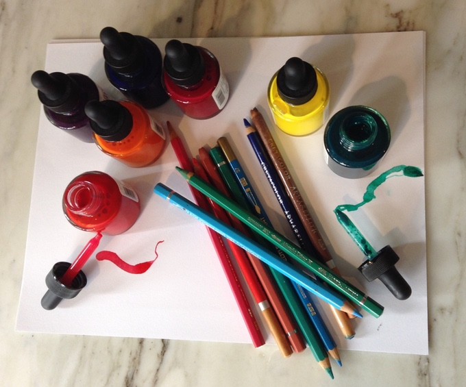 Alessandra's coloring tools