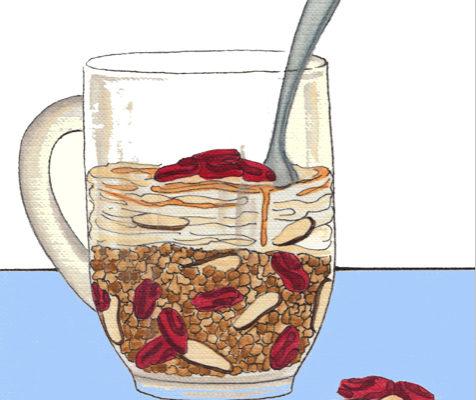 Cranberry-Almond Perfect Parfait