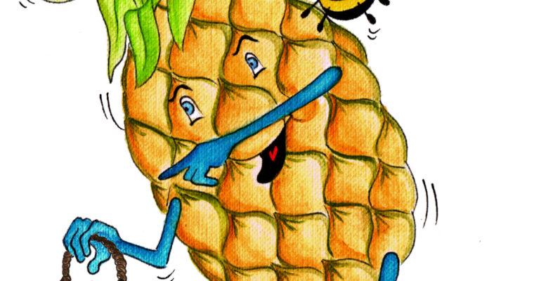 Fluffy Pineapple Cake